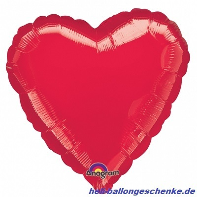 "Folienballon ""Red Heart"""