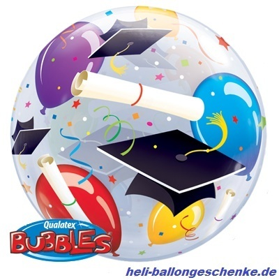 "Bubble ""Grad Hats & Ballons"""