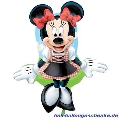 "Folienballon ""Minnie Dirndl"""