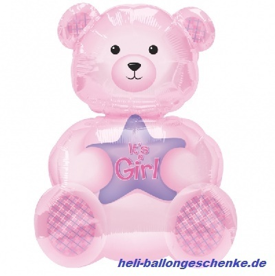 "Folienballon ""Girl Bear"""