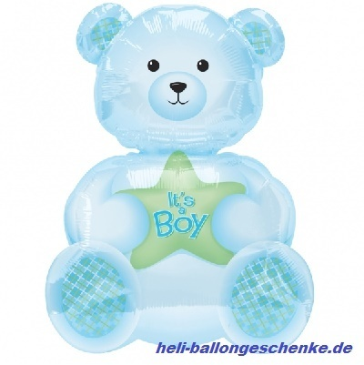 "Folienballon ""Boy Bear"""