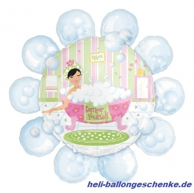 "Folienballon ""Bubble Bath Pamper"""
