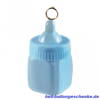 "Ballongewicht ""Blue Baby Bottle"" 170g"