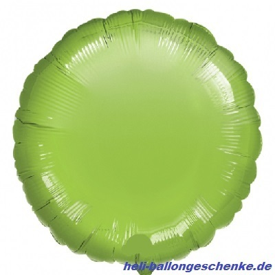 "Folienballon ""Lime Green Circle"""