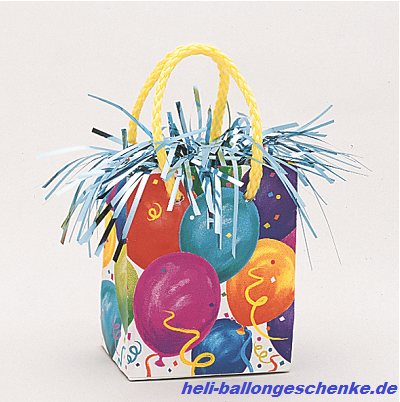 "Ballongewicht ""Mini Gift bag"", 170g"