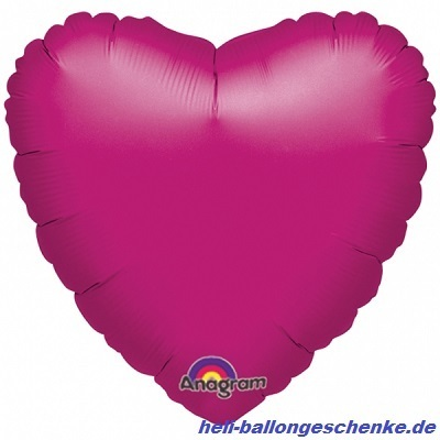 "Folienballon ""Fuchsia Heart"""