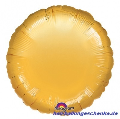 "Folienballon ""Gold Circle"""
