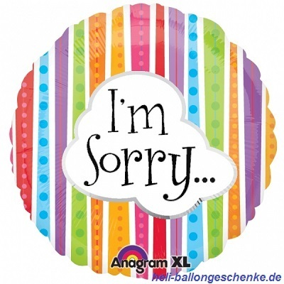 "Folienballon ""I`m Sorry"""