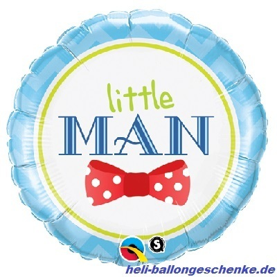 "Folienballon ""Little Man Bow-Tie"""