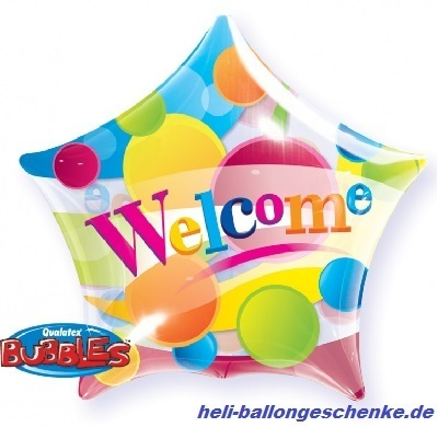 "Bubble ""Welcome"" Star"