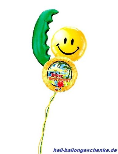 "Ballonbukett ""Happy Retirement"""