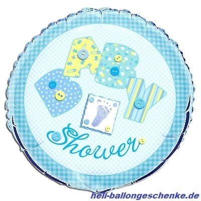 "Folienballon ""Baby Shower, Boy"""