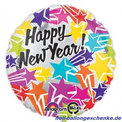 "Folienballon ""Happy New Year"""