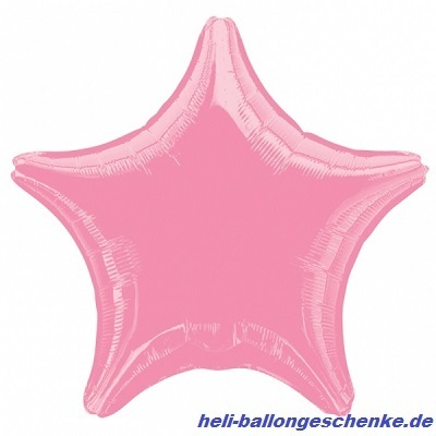 "Folienballon ""Pink Star"""